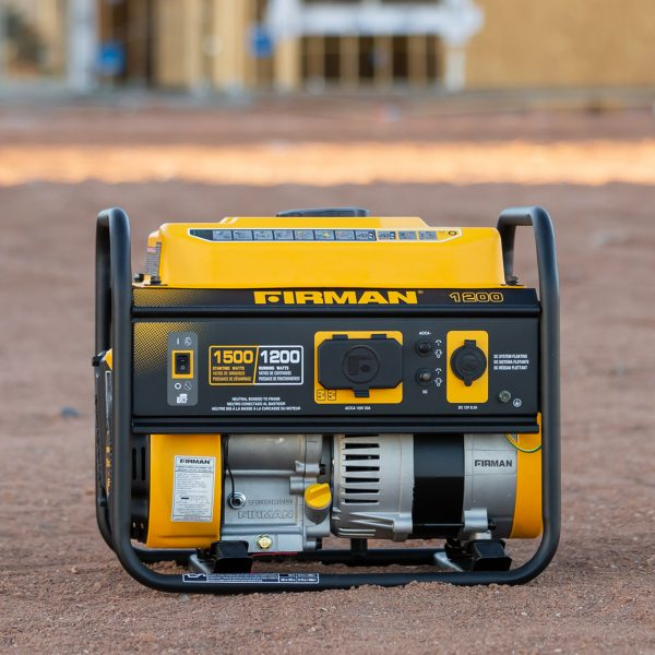 FIRMAN P01202 - Performance Series 1050 Watt Recoil Start Portable Generator-American Camp Supply