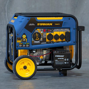 FIRMAN T08071 - 10000 WATT - TRI FUEL (GAS, LPG, NG)-American Camp Supply