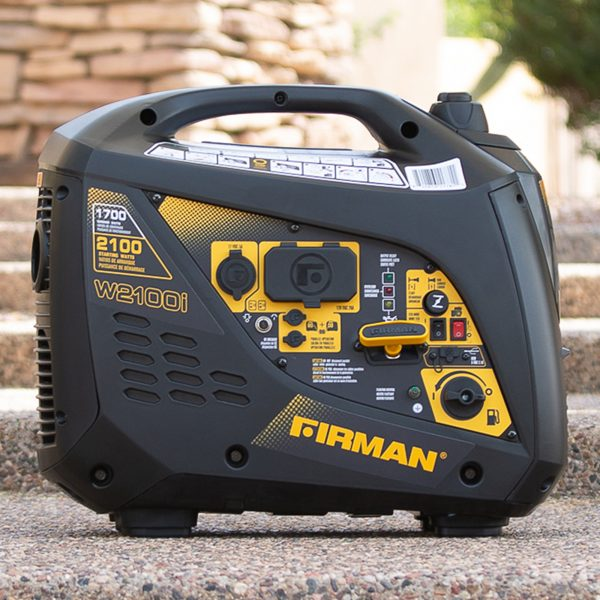 FIRMAN W01781 - 2100 WATT INVERTER GENERATOR - Parallel Ready-American Camp Supply