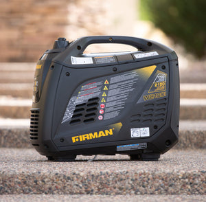 FIRMAN W01784 - 2100 WATT INVERTER GENERATOR - Parallel Built-In-American Camp Supply
