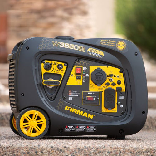FIRMAN W03382 - 3650 WATT INVERTER GENERATOR - Electric Start-American Camp Supply