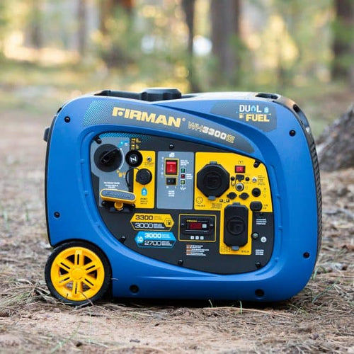FIRMAN WH03042 - 3300 WATT DUAL FUEL INVERTER GENERATOR - Electric Start-American Camp Supply