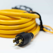 Load image into Gallery viewer, FIRMAN 1120 - 25FT POWER CORD L14-30P 30AMP TO 5-20RX4-American Camp Supply