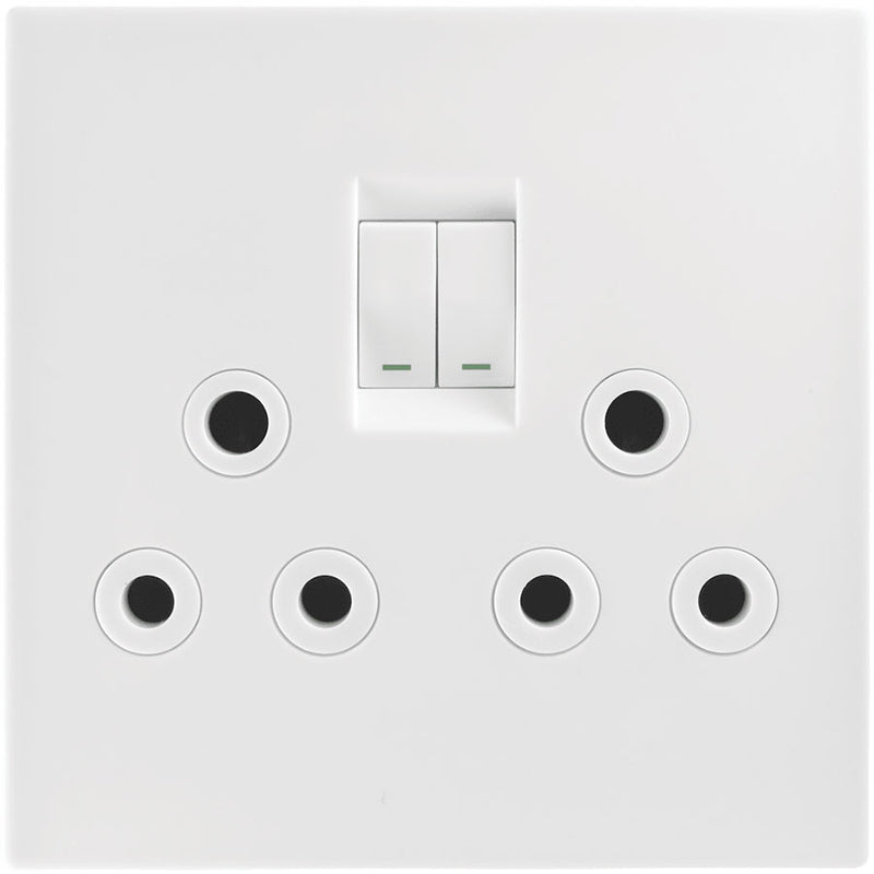 Crabtree Topaz Double Switched Socket 4 X 4
