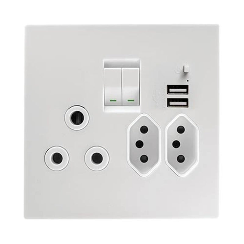 CRABTREE TOPAZ USB COMBINATION SOCKET 4 X 4