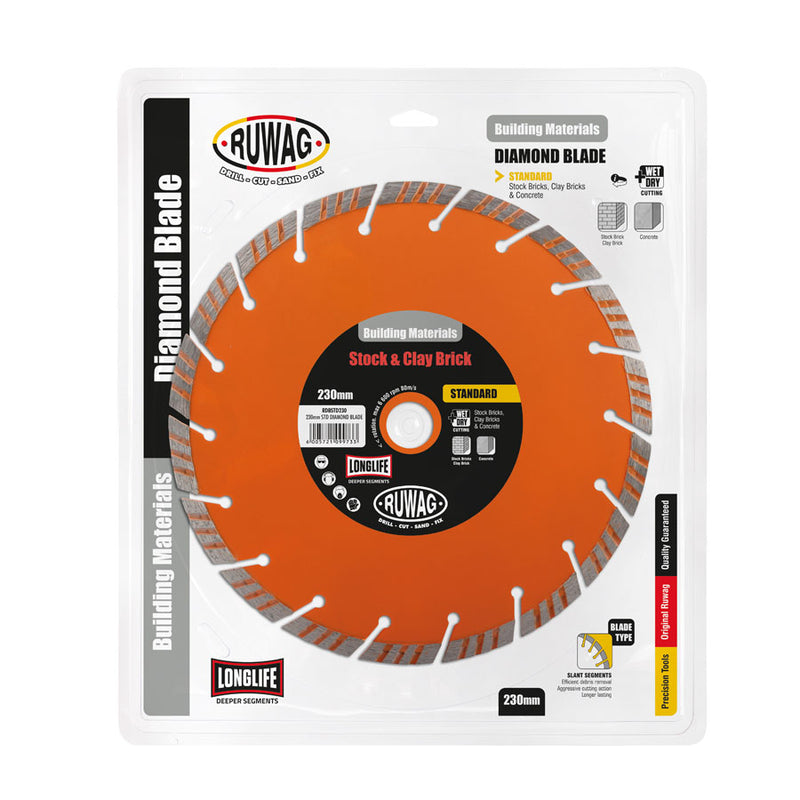 Ruwag 230mm Standard Diamond Blade
