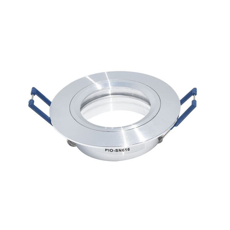PIOLED DOWNLIGHT FIXED SILVER SN616