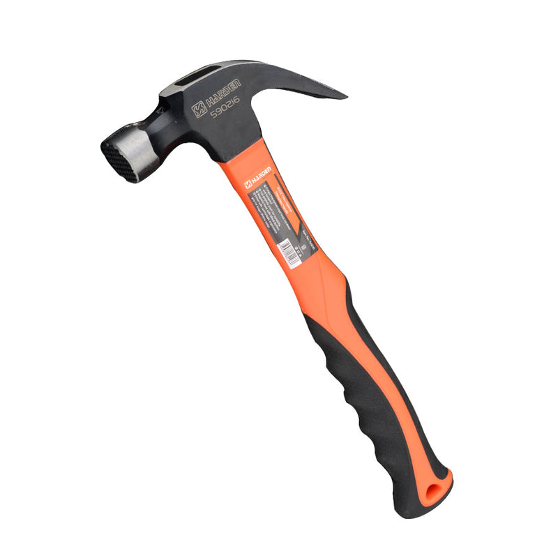 0.70kg/24oz Claw Hammer with Fibreglass Handle