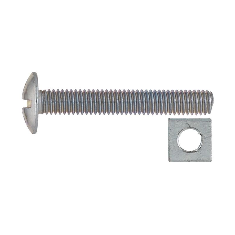 Gutter Bolt & Nut 6x60mm (20)