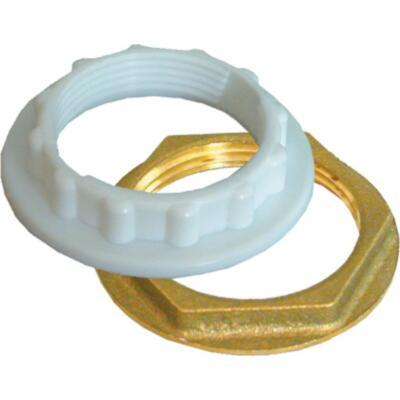 Splashworks Backnut Bath Brass 40mm Sw