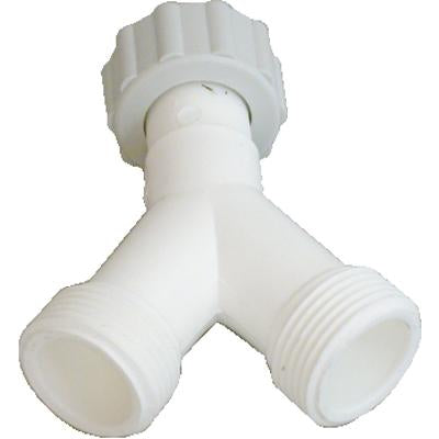 SPLASHWORKS ADAPTOR Y PIECE PVC SW