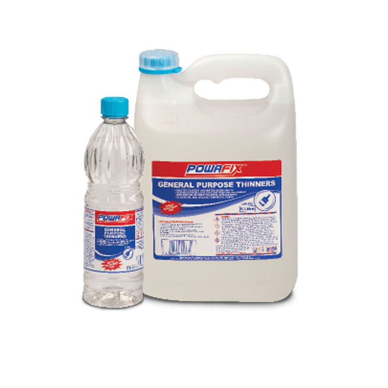 POWAFIX GENERAL THINNERS 750ML