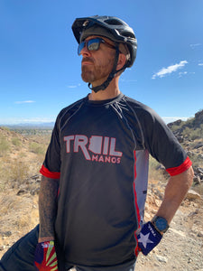 Trail Manos Unisex SS Race Jersey
