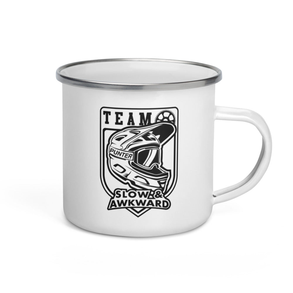 Team Slow and Awkward Camping Mug