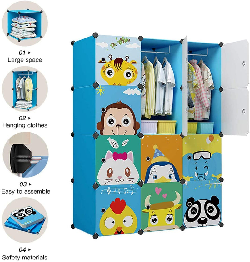 Kids Dresser Clothes Storage Organizer