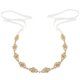 Sass B Celine Crystal Hairband / Brow Band - Available in Gold & Silver