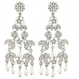 Nova Crystal and Pearl Earrings