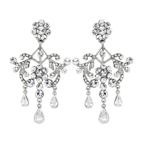 Kadence Crystal Chandelier Earrings
