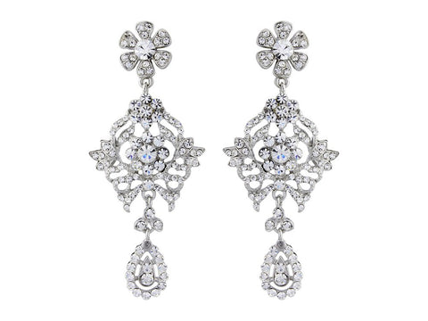 Stacey Crystal Chandelier Earrings