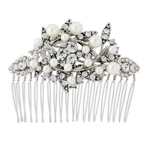 Kila Crystal Hair Comb