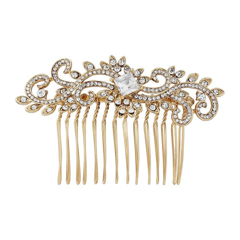 Talia Crystal Hair Comb