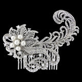 Erica Pearl and Crystal Hair Comb