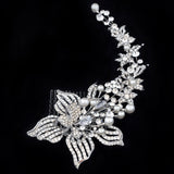Portia Pearl and Crystal Hair Comb