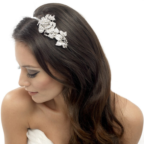 Joanna Crystal Rose Hair Band