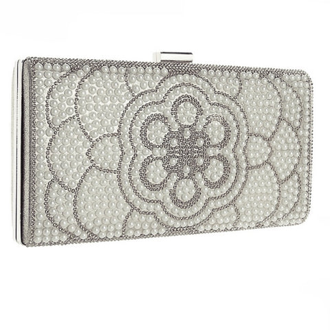 Sophia Pearl Evening Clutch Bag