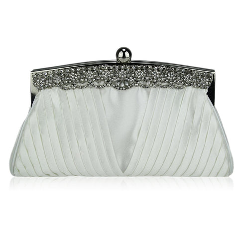 Cece Satin Clutch Handbag