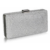Tamera Crystal Encrusted Clutch