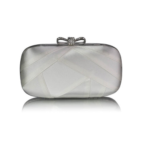 Gail Luxury Satin Clutch Handbag