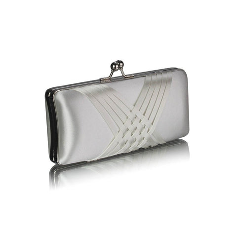 Davina Luxury Satin Clutch Handbag