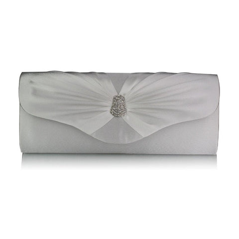 Samantha Satin Clutch Handbag