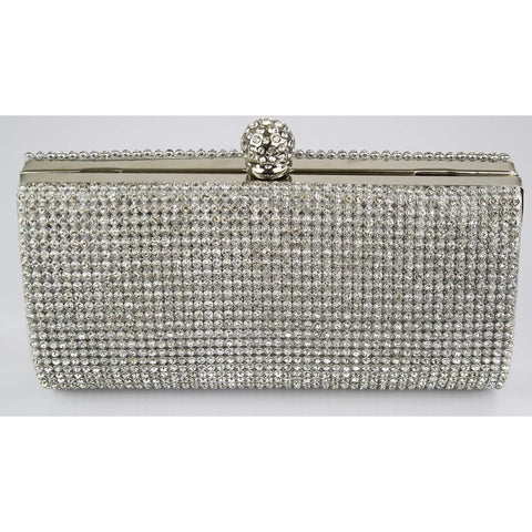 Dakota Crystal Encrusted Clutch