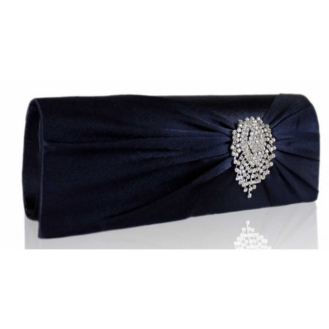 Belle Luxury Satin Clutch Handbag