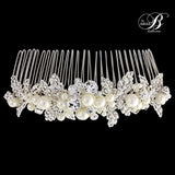 SassB Maisie Crystal and Pearl Hair Comb