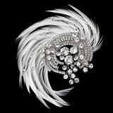 SassB Adoria Feather Hair Piece