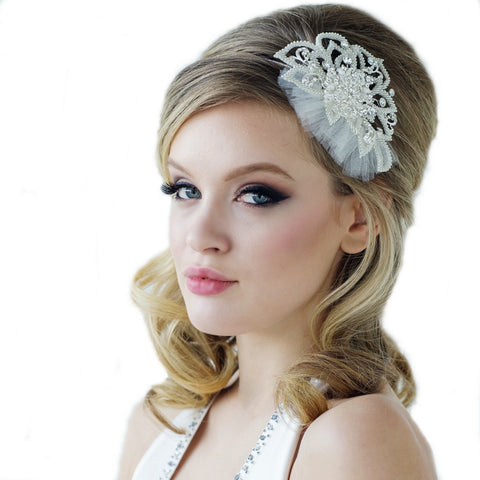 SassB Bethan Crystal Hair Band
