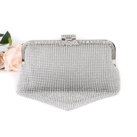 e564851e552 Connie Silver Evening Clutch Bag – Happy Wedding Day