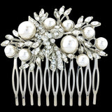 Nicola Pearl and Crystal Hair Comb