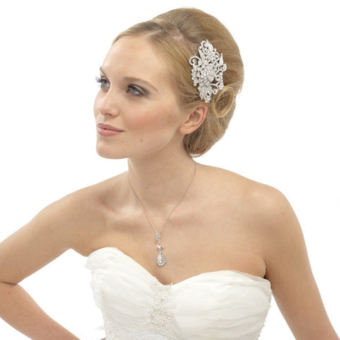 Louisa Crystal Hair Comb