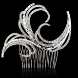 Briony Crystal Hair Comb