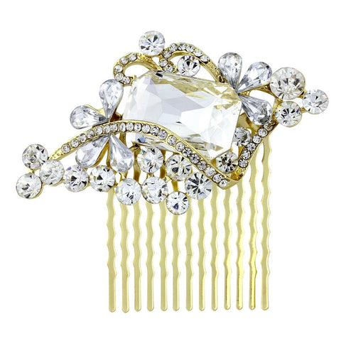 Hannah Crystal Hair Comb