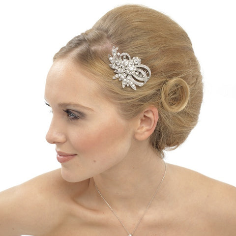Rhian Crystal Hair Comb