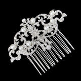 Shelley Crystal and Pearl Hair Comb