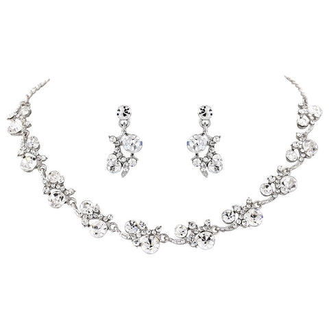 Giselle Crystal Necklace Set