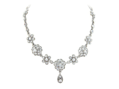 Trista Crystal Necklace Set