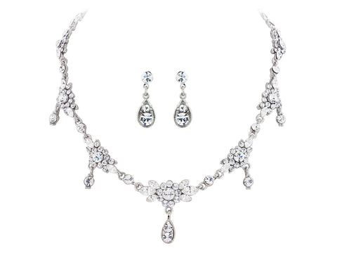 Phillipa Crystal Necklace Set