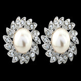 Ursula Crystal and Pearl Earrings